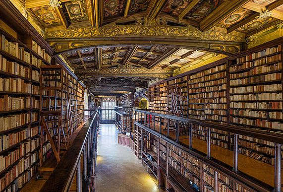 Bodleian library at Oxford